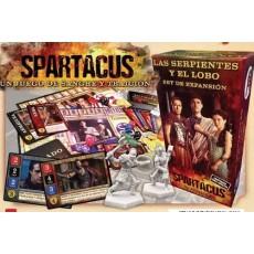 Spartacus : las serpientes...