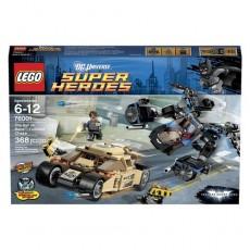 Lego heroes dc batman vs bane