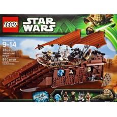 """Lego star wars jabba""""s sail..."""