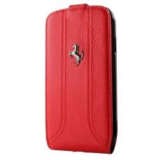 Funda flipper roja logo...