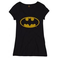 Camiseta chica batman logo...