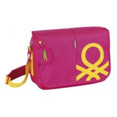 Benetton pink - bandolera...