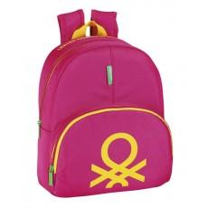 Benetton pink - mochila...