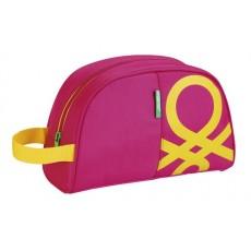 Benetton pink - neceser 28 cm