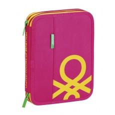 Benetton pink - plumier...