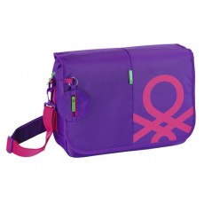 Benetton purple - bandolera...
