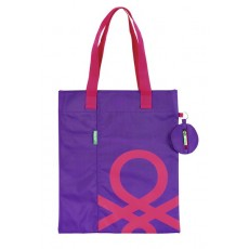 Benetton purple - shopping...