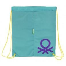 Benetton turquoise - saco...