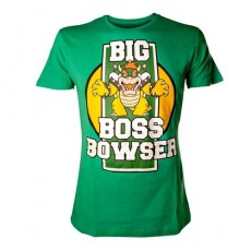 Camiseta nintendo bowser xl