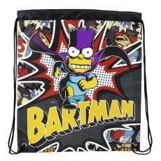 Simpsons bartman - saco plano