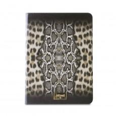 Funda booklet slim leopard...