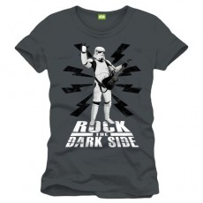 Camiseta star wars rock the...
