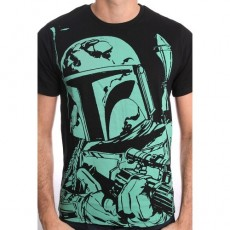 Camiseta star wars big boba...