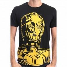 Camiseta star wars big c3po...