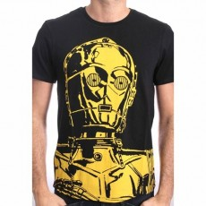 Camiseta star wars big c3po m