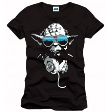 Camiseta star wars yoda cool m