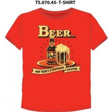 Camiseta simpsons beer talla l