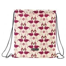 Moos flamingo - saco plano