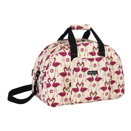 Moos flamingo bolsa deporte