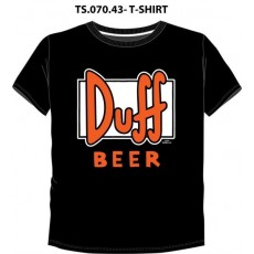 Camiseta simpsons duff...