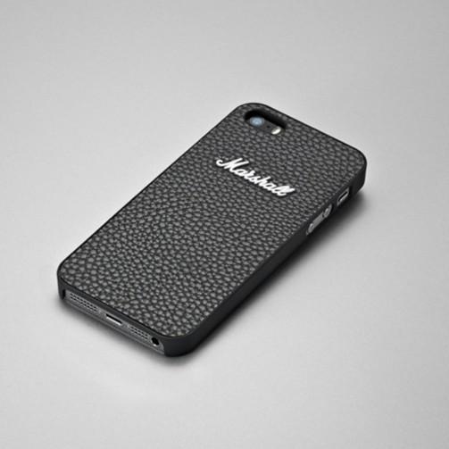 84e746c4375 Marshall MA4090886 - Carcasa con tapa trasera para Apple iPhone 5/5s,  vinilo, negro (7340055308861)