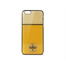 Carcasa munich retro line para iphone 6 amarillo/blanco