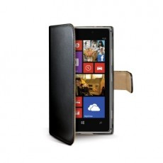 Funda wallet lumia 925 negra