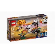 Lego star wars speeder bike...