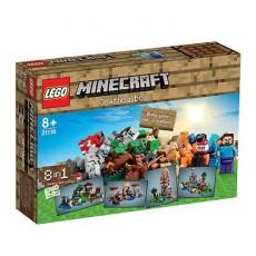 Lego minecraft mesa de trabajo