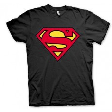 Camiseta superman logo negro l