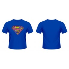 Camiseta superman azul logo...