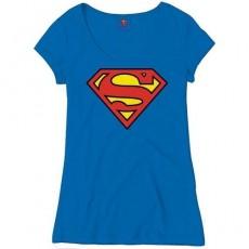Camiseta chica superman logo m