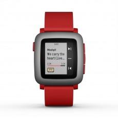 Smartwatch pebble time rojo...