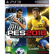 Ps3 pes 2016 - day one edition