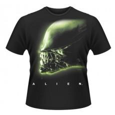 Camiseta alien: cabeza...