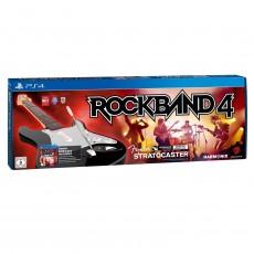 Ps4 rock band 4 + guitarra...