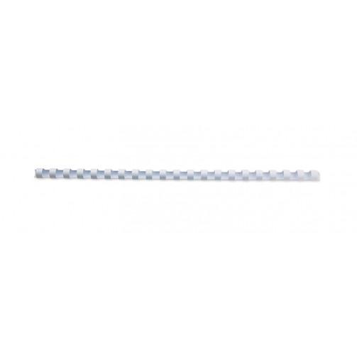 color blanco Gbc 4028202 25 mm Caja de 50 canutillos de pl/ástico