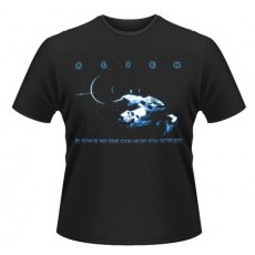 Camiseta alien: no one can...