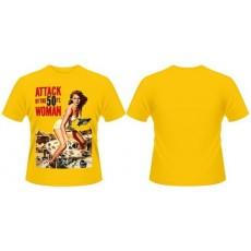 Camiseta ataque mujer de 50...