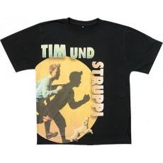 Camiseta tintin y milu talla l