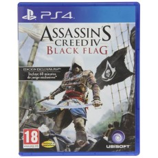 Ps4 assassin s creed 4 black