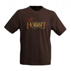 Camiseta el hobbit: logo...