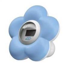 Termómetro de baño azul de...