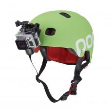 Placa frontal para casco...