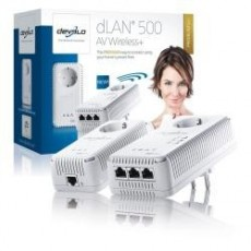 Dlan 500 av wireless+...
