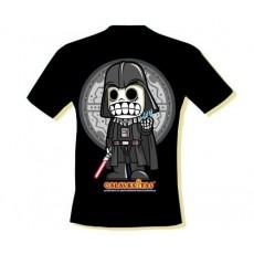 Camiseta calaveritas oscuro...