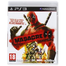Ps3 deadpool masacre