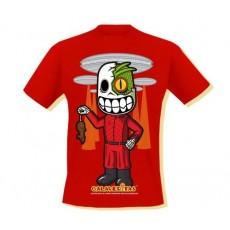 Camiseta calaveritas v...