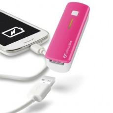Cargador portatil rosa...