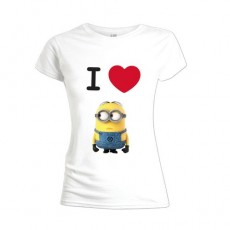 Camiseta chica i love...